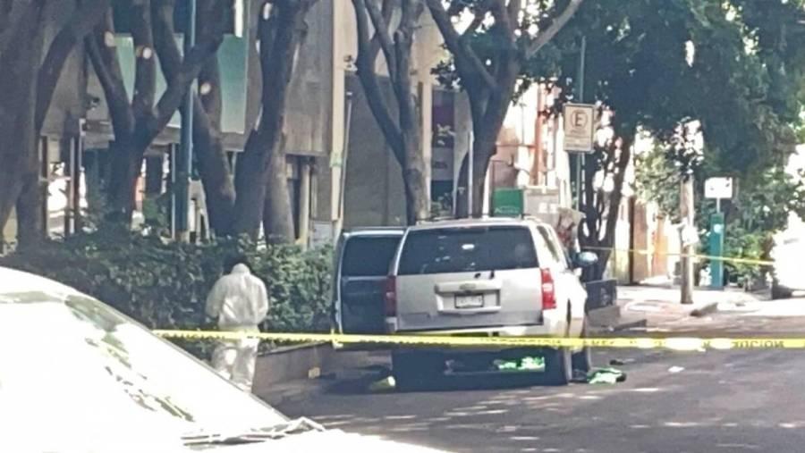 Hallan camioneta con armas afuera de la SSC tras ataque a García Harfuch