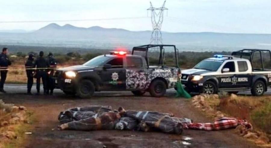Hallan 15 cadáveres sobre la carretera de Zacatecas a Durango