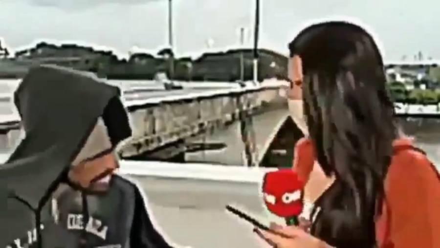Asaltan a periodista mientras transmitía en vivo