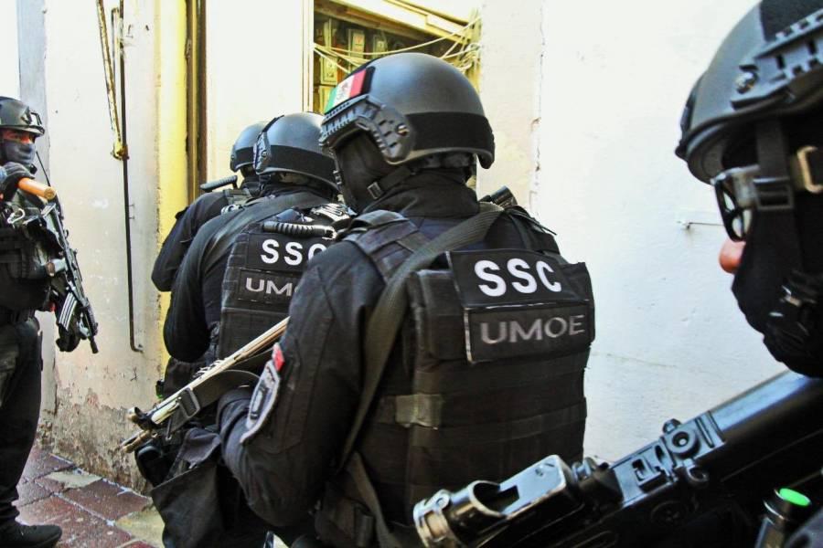 Autoridades catean tres domicilios en la GAM relacionados con atentado a García Harfuch