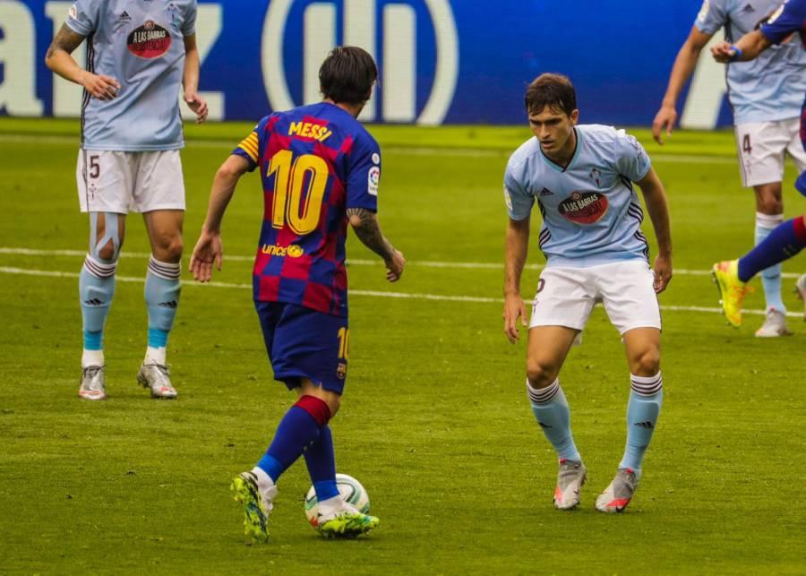 Barcelona empata contra el Celta y pone en riesgo el liderato en LaLiga