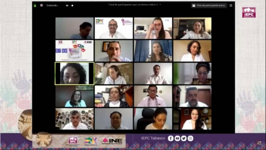 Participa IECM en el 9º Encuentro Nacional de Educación Cívica