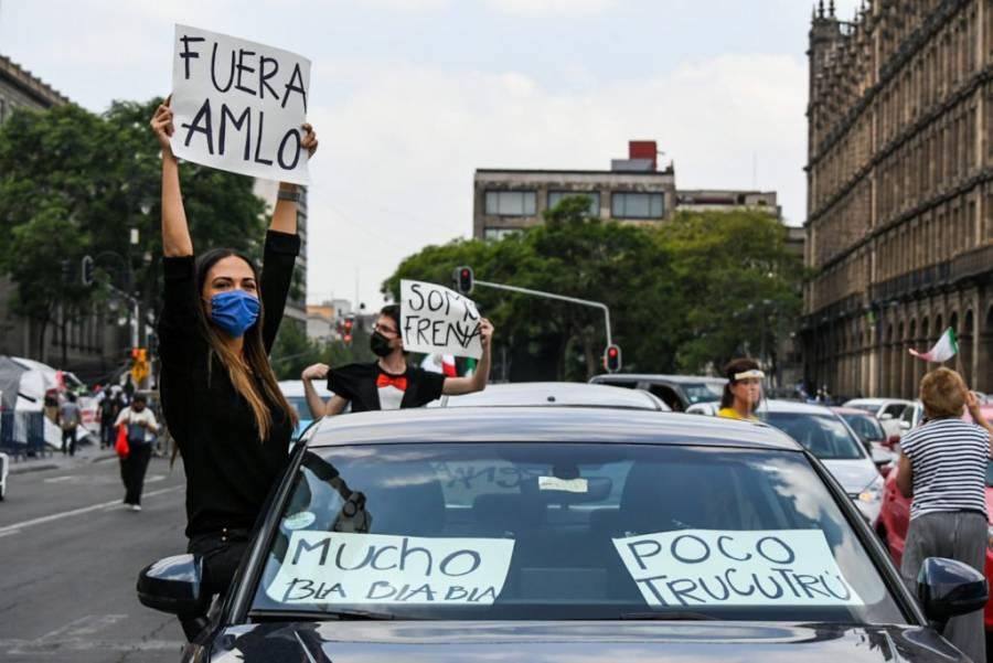 Nueva jornada de manifestaciones Anti AMLO