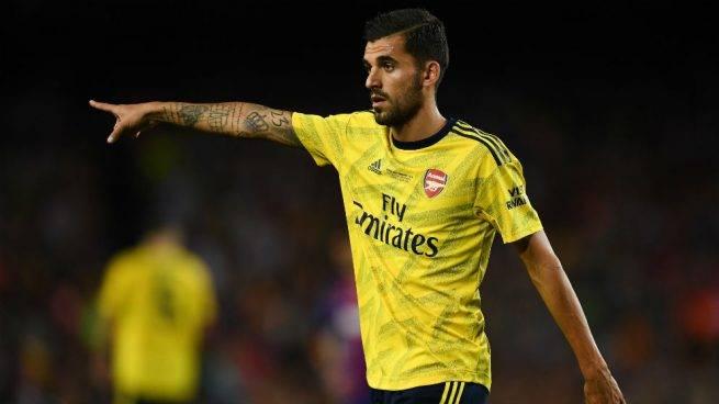 Mete Dani Ceballos al Arsenal en semifinales de la FA Cup