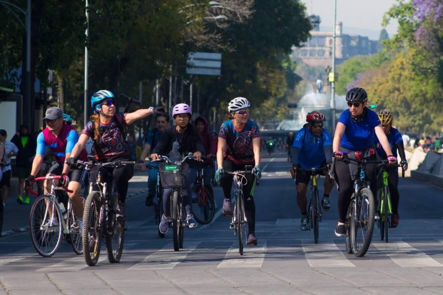 La entrada de la bicicleta en la Ciudad de México