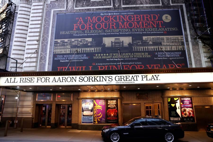 Teatros de Broadway permanecerán cerrados hasta enero de 2021