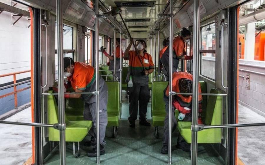 Reporta Metro CDMX muerte de 18 trabajadores por covid-19