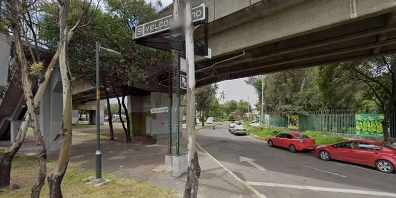 Reportan balacera cerca del Metro Velódromo, habría dos heridos