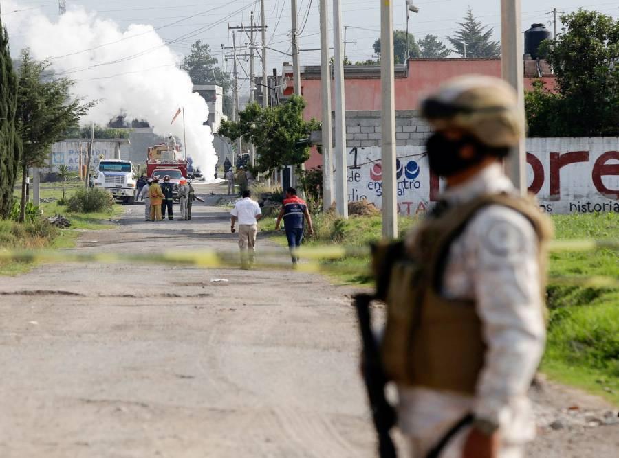 Puebla: Descubren túnel y toma clandestina de Gas LP