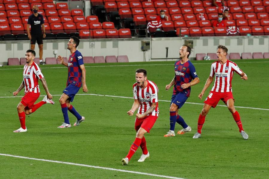 Barcelona se atasca ante el Atlético de Madrid
