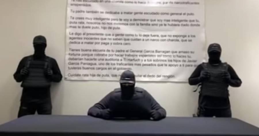 Video: Lanzan nueva amenaza contra Omar García Harfuch