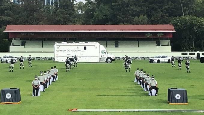 Agradece Jefa de Gobierno a Guardia Nacional apoyo a la CDMX