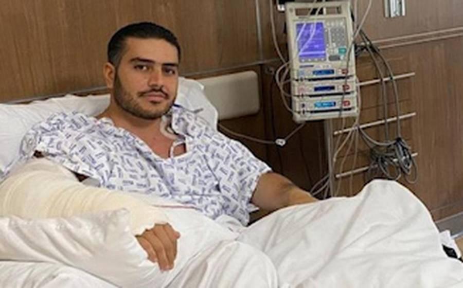 Realizan cirugía nuevamente a García Harfuch