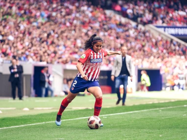 La mexicana Kenti Robles se va del Atlético de Madrid tras cinco años