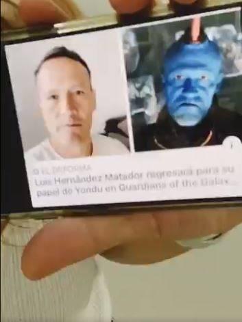El 'Matador' Hernández sorprende con increíble cosplay de Guardianes de la Galaxia