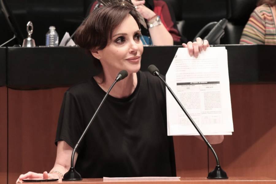 Lilly Téllez propone iniciativa para brindar seguridad  a jueces