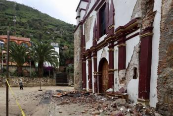 Segob emite declaratoria de desaste a 157 municipios en Oaxaca