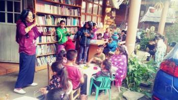 La lectura resiste la pandemia en comunidades de Michoacán