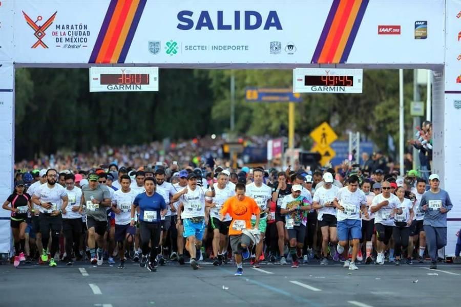 Cancelan por COVID-19 el Maratón y Medio Maratón de la CDMX