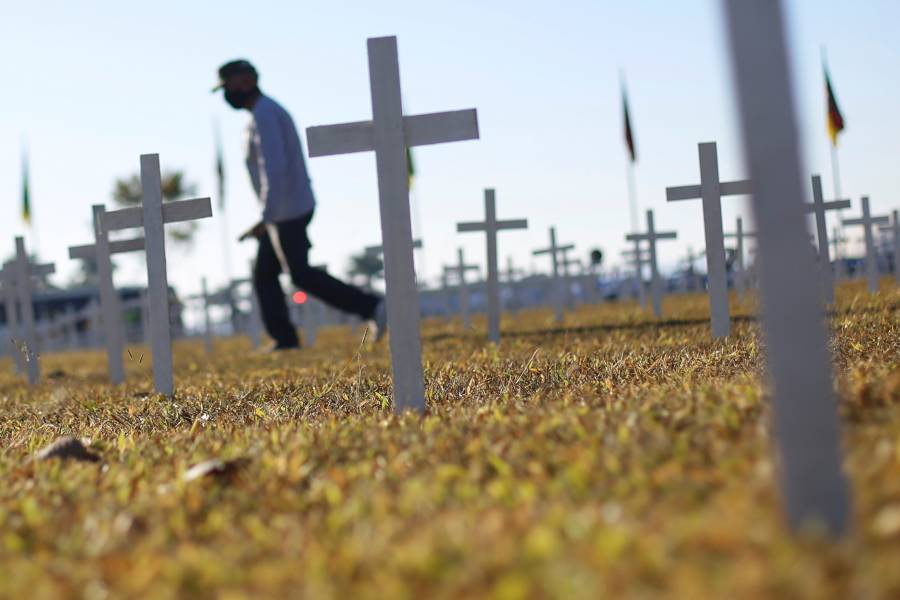 Brasil supera las 60 mil muertes por Covid-19