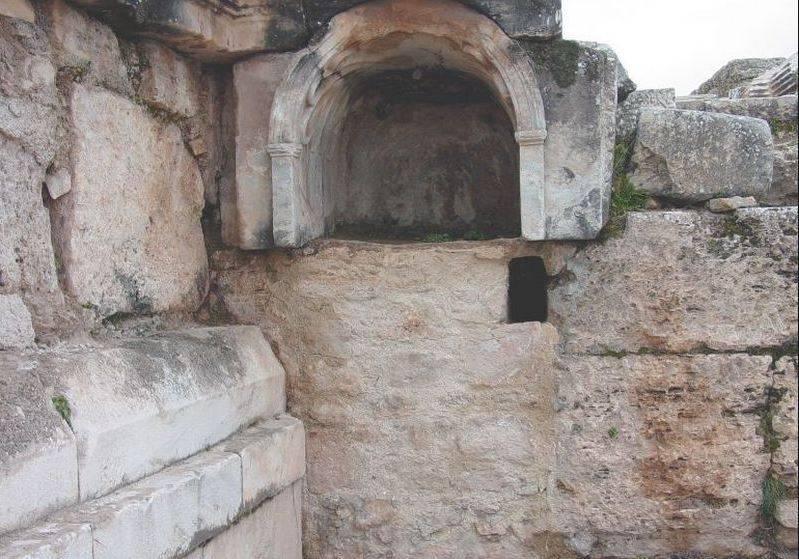 La puerta romana de la Tierra al Inframundo