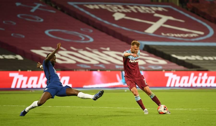 Chelsea estrena jersey pero cae ante un combativo West Ham