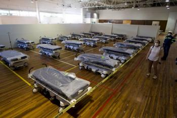 Tamaulipas próximo a declarar cero disponibilidad de camas para Covid-19, afirma gobernador