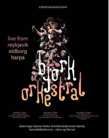 Bjork dará 3 conciertos acústicos en línea