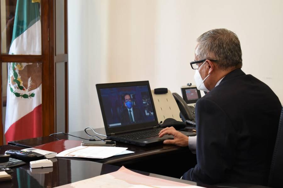 Moctezuma nombra Oscar Flores como encargado de las Finanzas en la SEP