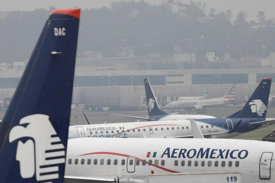Moody´s recortó nota crediticia de Aeromexico al no garantizar sus pagarés globales