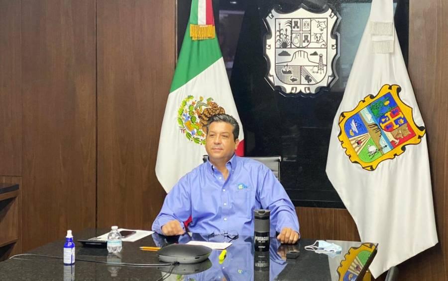 Cabeza de Vaca, gobernador de Tamaulipas, da positivo a COVID-19