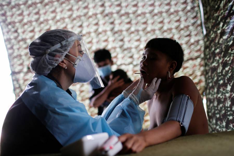 En junio 2.3 millones de personas  se contagiaron en América