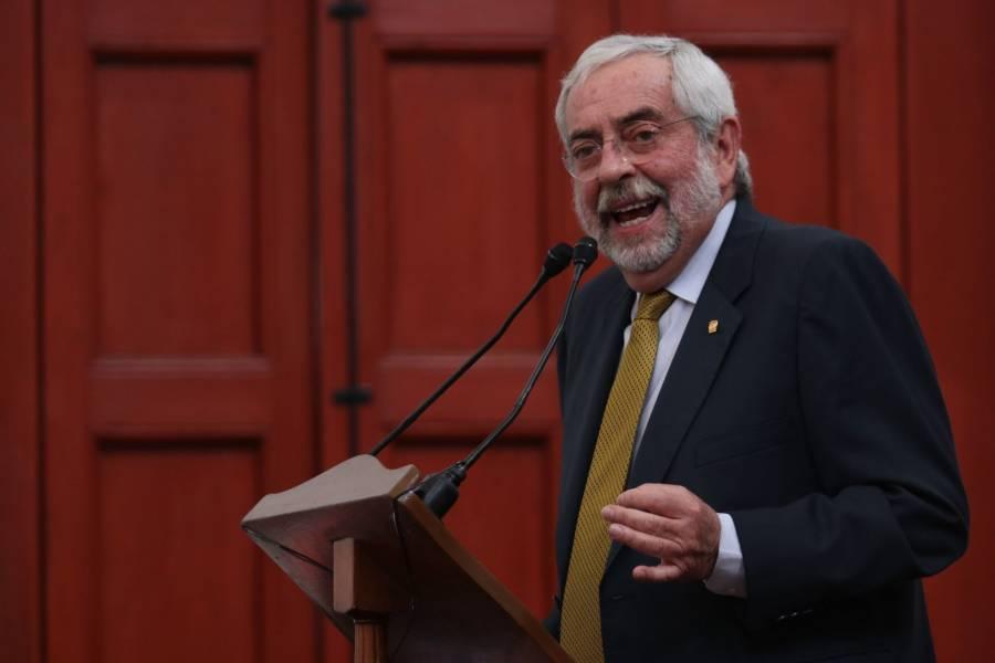 Graue: UNAM no regresará a actividades antes del fin del periodo vacacional