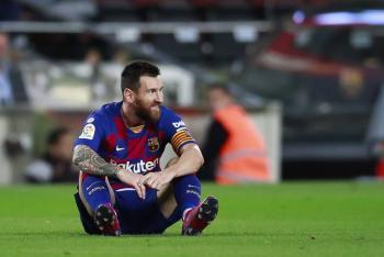 Messi desencantado con Barcelona