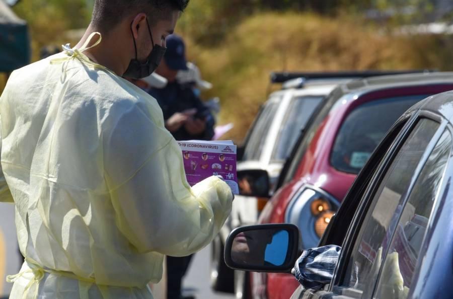 Saltillo continúa multando a automovilistas sin cubrebocas