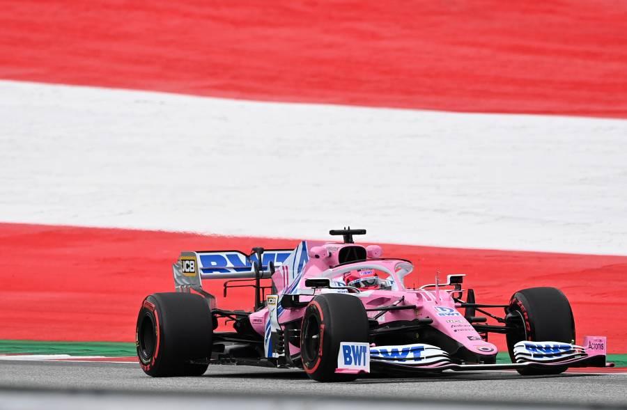 """F1 regresa con el """"Checo"""" Pérez en el tercer puesto en día de prácticas"""
