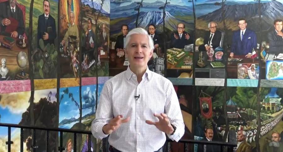 EdoMex empezará a retomar las actividades: Alfredo del Mazo