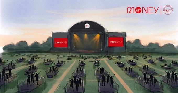 Crean foro diseñado para conciertos con sana distancia