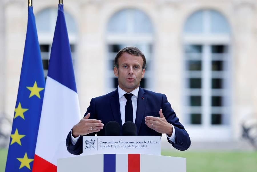 Macron empieza a trabajar en su reelección, tras renuncia del primer ministro