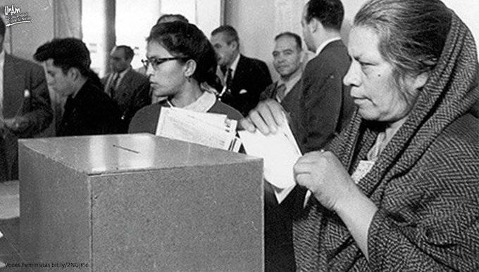 1955, 65 años del voto de la mujer