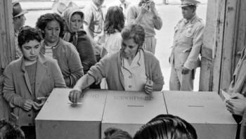 Recuerda Sheinbaum 65 años del voto de las mujeres