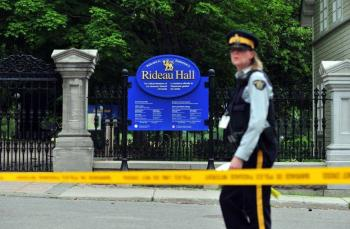 Detienen a militar por entrar a Rideau Hall, residencia de Trudeau