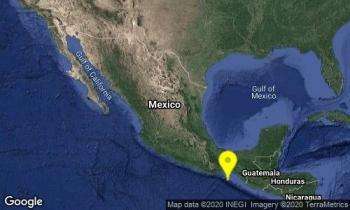 Temblor de 3.9 al suroeste de Tonalá, Chiapas