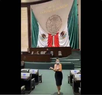 Video: Diputada Nayeli Salvatori rompe en llanto tras recibir amenazas por TikTok