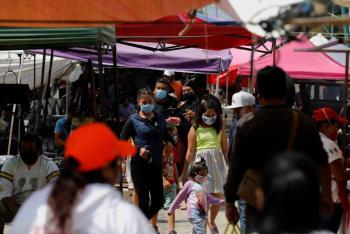 Supera México a Francia en muertes y a España en contagios por Covid