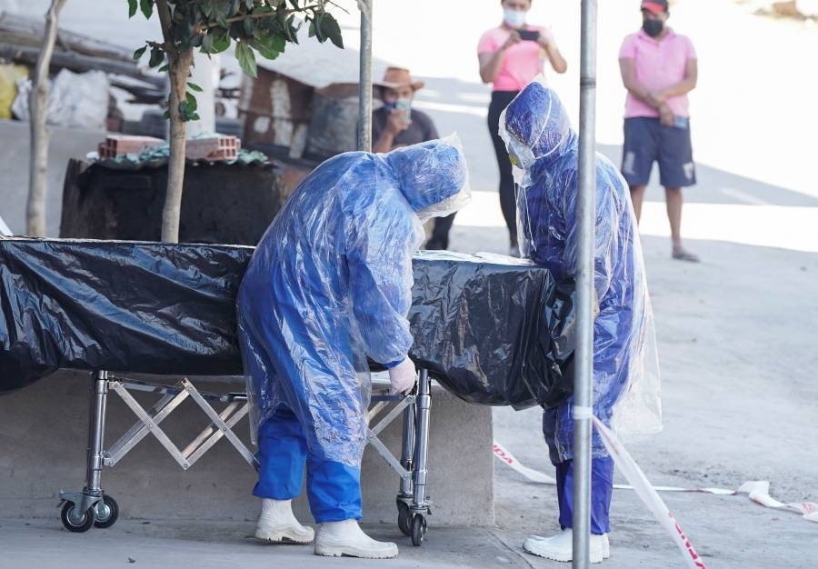 Información de la OMS revela que hay 528 mil 104 muertes por Covid