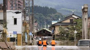 Lluvias torrenciales en Japón dejan al menos 34 muertos