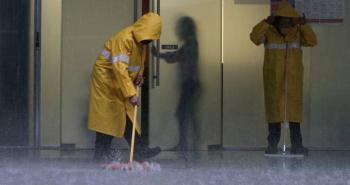 Encharcamientos en la CDMX por lluvias intensas