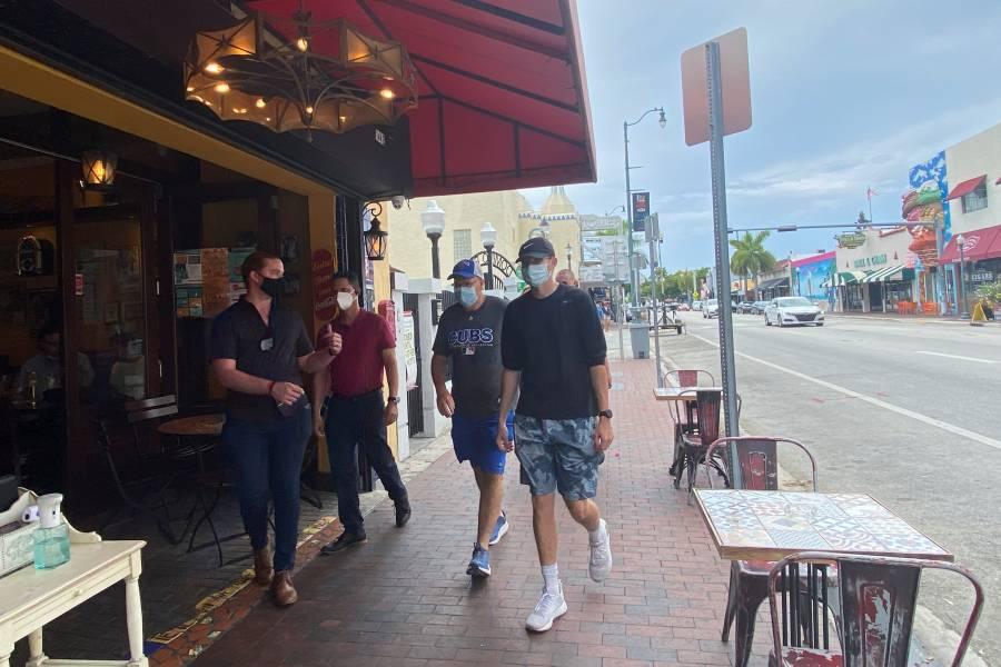 Miami vuelve a cerrar restaurantes por pandemia