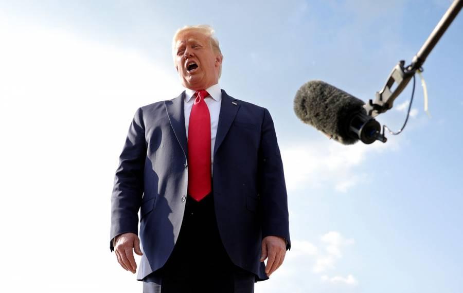 """""""China causó un gran daño a EEUU y al resto del mundo"""": Trump"""